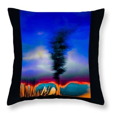 Desert Pottery Throw Pillow