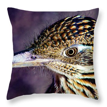 Desert Predator Throw Pillow