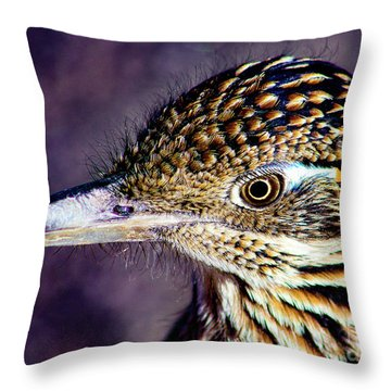 Desert Predator Throw Pillow
