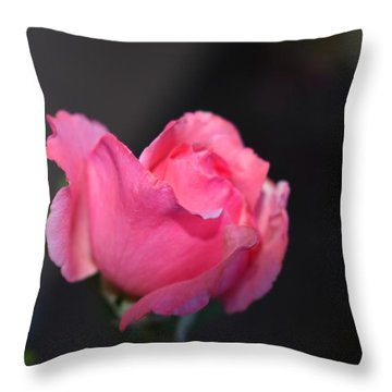 Desert Rose 1 Throw Pillow