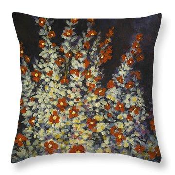 Desert Sage Throw Pillow
