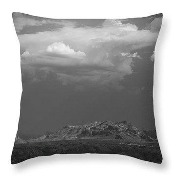 Desert Settlement Throw Pillow