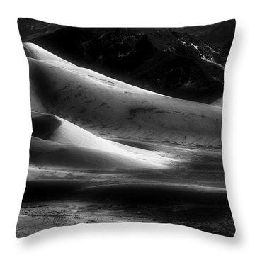 Desert Shadows Throw Pillow