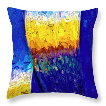 Throw Pillow featuring the photograph Desert Sky 1 by Paul Wear
