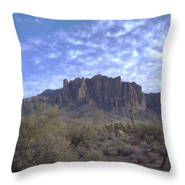 Desert Sky Throw Pillow