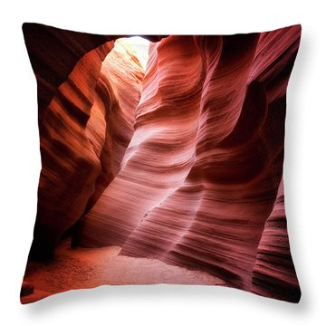 Desert Southwest Underworld Throw Pillow by Nicki Frates