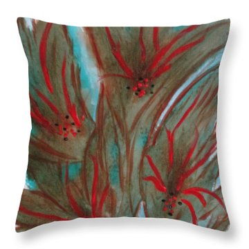 Desert Spirits Throw Pillow
