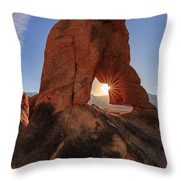 Desert Star Throw Pillow