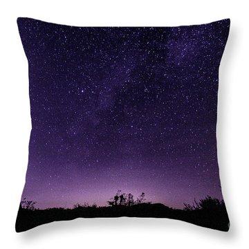 Desert Starscape Throw Pillow