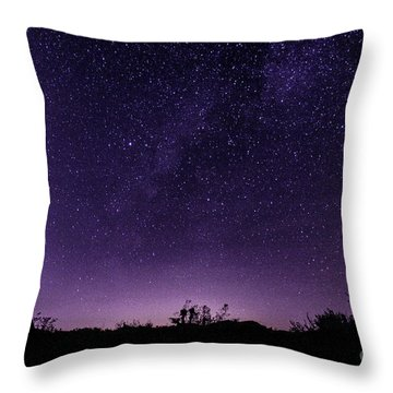 Desert Starscape Throw Pillow