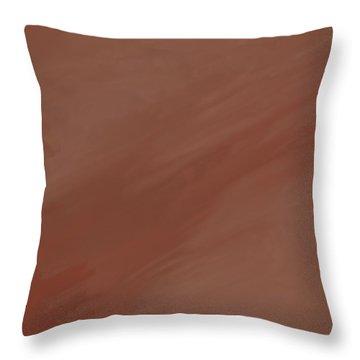 Desert Storm Throw Pillow by Dan Sproul