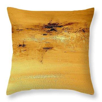 Desert Storm Throw Pillow