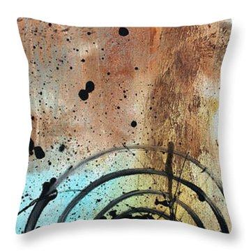 Desert Surroundings 4 By Madart Throw Pillow by Megan Duncanson
