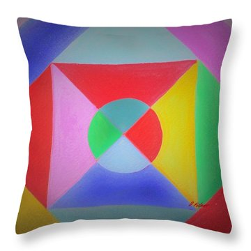 Design Number One Throw Pillow