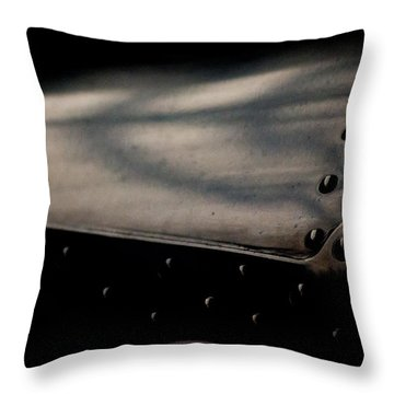 Throw Pillow featuring the photograph Design by Paul Job