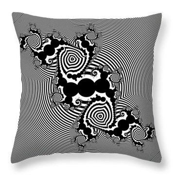 Desingeder Throw Pillow