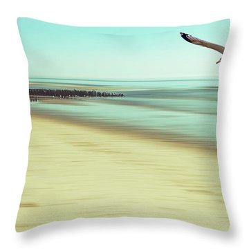 Throw Pillow featuring the photograph Desire Light Vintage2 by Hannes Cmarits