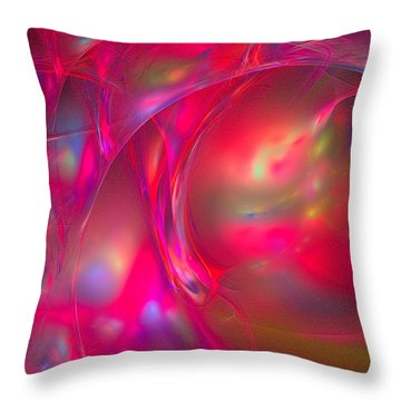 Throw Pillow featuring the digital art Desire by Sipo Liimatainen