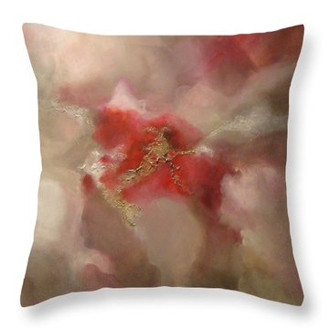 Throw Pillow featuring the painting Desire by Tamara Bettencourt