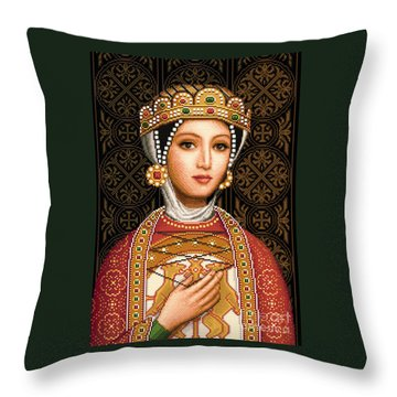 Desislava Throw Pillow by Stoyanka Ivanova