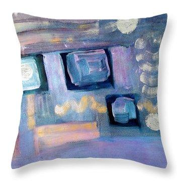 Desktop  Throw Pillow by Don  Wright