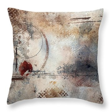 Desperation Throw Pillow by Monte Toon