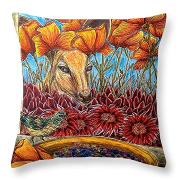 Dessert Anyone? Throw Pillow
