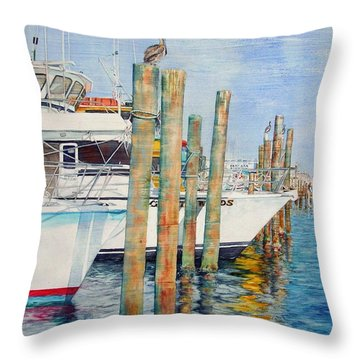 Destination Destin Nr. One Throw Pillow