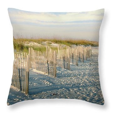 Destination Serenity Throw Pillow by Sennie Pierson