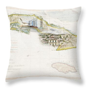 Destination Trinidad Throw Pillow