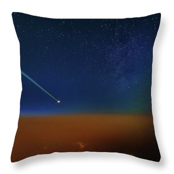 Destination Universe Throw Pillow