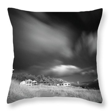 Destination Throw Pillow by William Lee