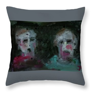 Throw Pillow featuring the digital art Destined For Greathess by Jim Vance