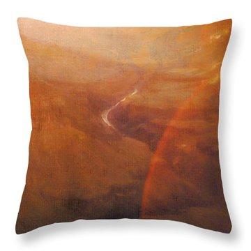 Destiny Of The Lonesome Dreamer Throw Pillow