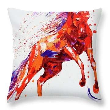 Destiny Throw Pillow by Penny Warden