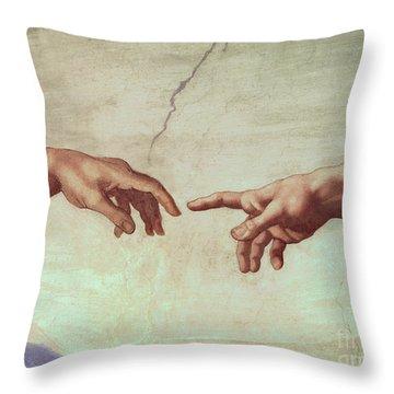 Genesis Throw Pillows