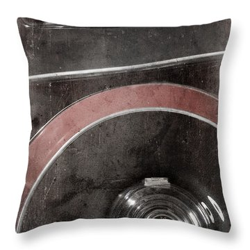 Detail Of A Vintage Car. Throw Pillow by Andrey  Godyaykin