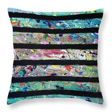 Detail Of Agoraphobia 2 Throw Pillow