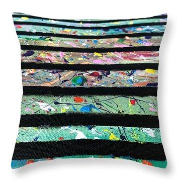 Detail Of Agoraphobia  Throw Pillow