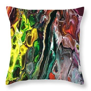 Detail Of Auto Body Paint Technician 5 Throw Pillow