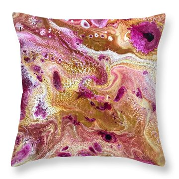 Detail Of Colossal 3 Throw Pillow