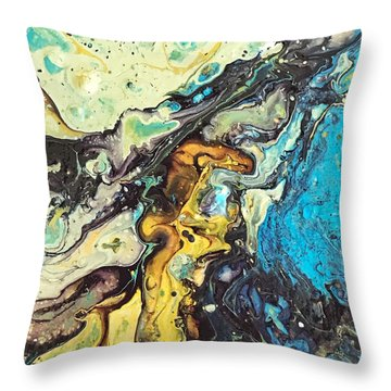 Detail Of Conjuring 3 Throw Pillow