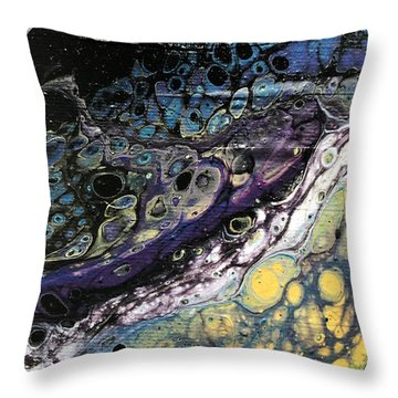 Detail Of He Likes Space 2 Throw Pillow