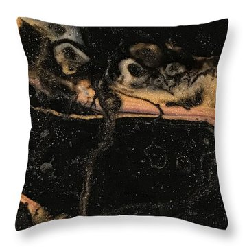 Detail Of New Orleans Saxophone Throw Pillow