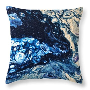 Detail Of Tree Of Life Throw Pillow
