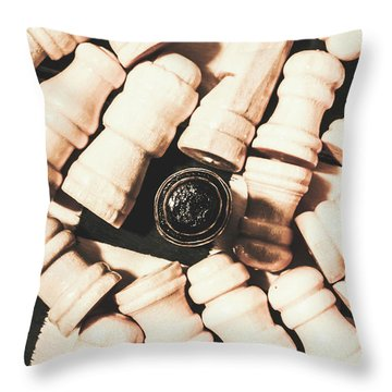 Details From The Games Room Throw Pillow