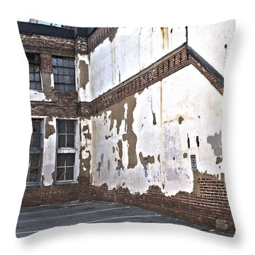 Deteriorated Throw Pillow