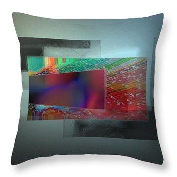 Developing Throw Pillow