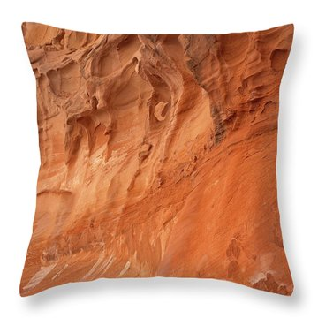 Devil's Canyon Wall Throw Pillow