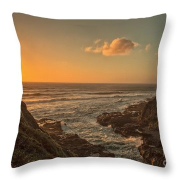 Devils Churn Throw Pillow by Billie-Jo Miller